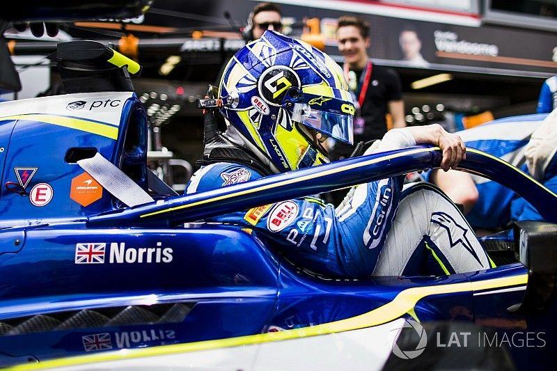 Paul Ricard F2: Norris leads Russell in practice