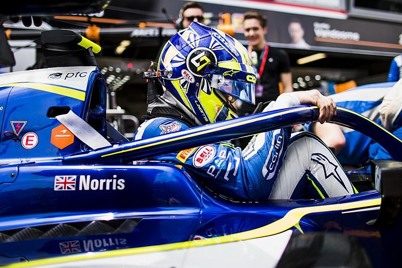 F2 Paul Ricard: Norris lider, Russell ikinci