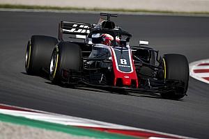 Formula 1 Test raporu Barcelona sezon içi testi 1. Gün: Sabah bölümünde lider Grosjean