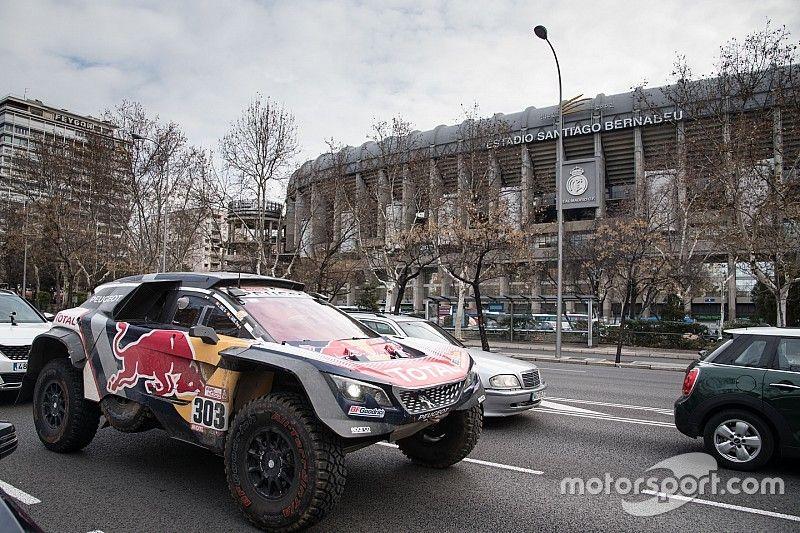 Galería: Madrid se rinde a los reyes del Dakar 2018, Sainz y Lucas Cruz