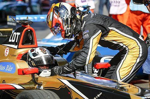 Лоттерер объяснил свой таран напарника в гонке Формулы Е