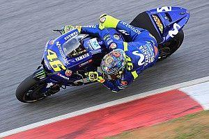 Valentino Rossi, contento con su test
