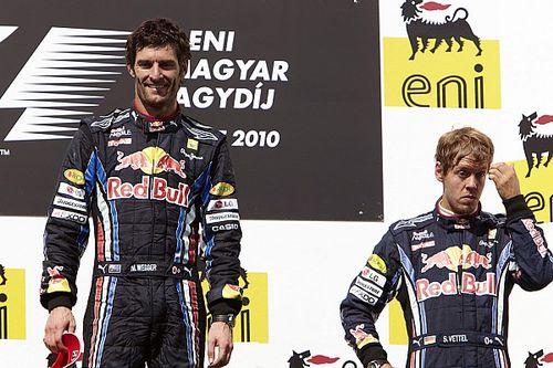 Horner elárulta, hogyan oldotta a feszültséget Vettel és Webber között
