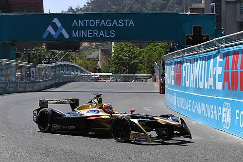 Santiago ePrix: Vergne tops red flag-disrupted practice
