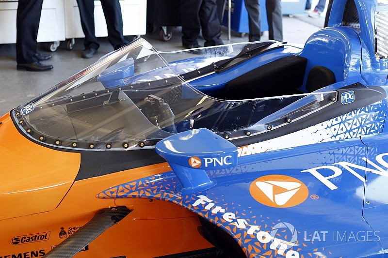 La IndyCar probará por segunda vez su parabrisas