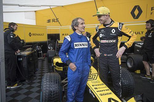 Vidéo - Prost et Hülkenberg font le show à Nice avec Renault F1