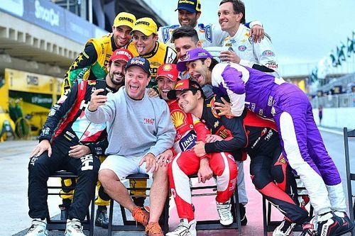 """Após problema cerebral, Barrichello celebra retorno """"mágico"""""""