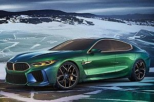 El BMW M8 Gran Coupé Concept, de la pasarela al asfalto