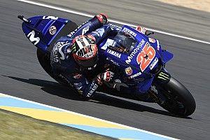 Le Mans MotoGP: Vinales tops FP3, Marquez crashes
