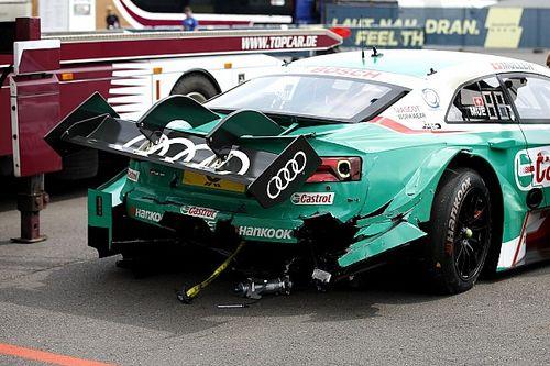 Képgaléria a DTM kaotikus első versenyéről: Lausitzring