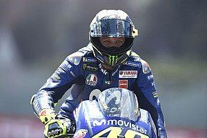 """Rossi: """"Tenemos los mismos problemas y cuando somos competitivos es por la pista"""""""