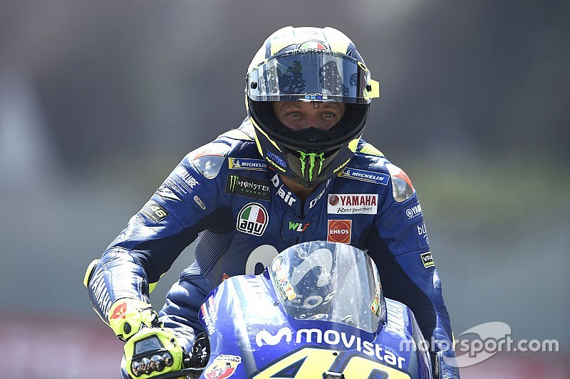 Rossi recalca la desventaja de Yamaha respecto a sus grandes rivales