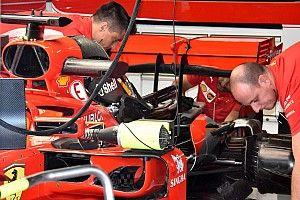 GALERÍA TÉCNICA: actualizaciones en los autos de F1 directamente desde los garajes