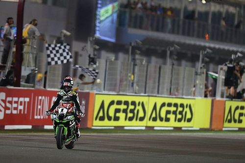 WSBK Qatar: Van der Mark vierde in slotrace, winst Rea