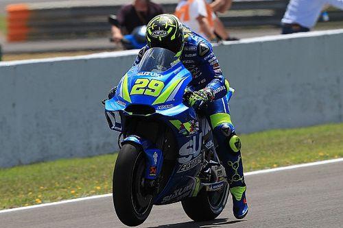 """Iannone : Suzuki """"très proche du sommet tout le week-end"""""""
