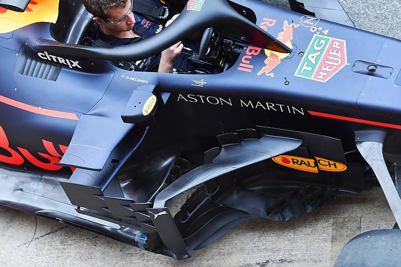 Bildergalerie: Barcelona-Updates bei Red Bull