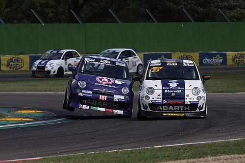 Doppio successo dell'italiano Barberini a Imola nel Trofeo Abarth Selenia