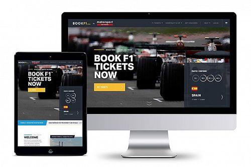 """شبكة موتورسبورت تدخل عالم حجز التذاكر الإلكتروني بالاستحواذ على """"بوك إف1.كوم"""""""