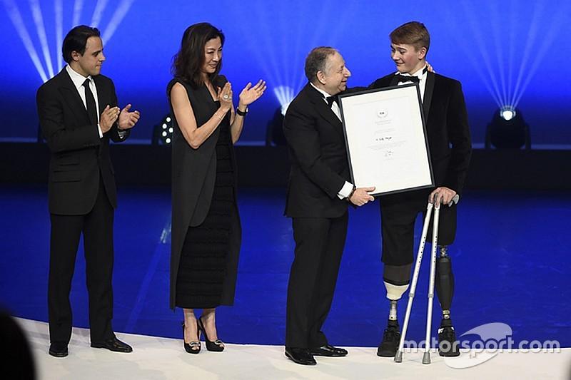Photos - La FIA honore Hamilton, Ogier, Monger et les autres
