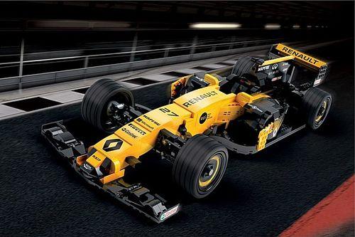 Renault installe une R.S.17 en Lego sur les Champs-Elysées!