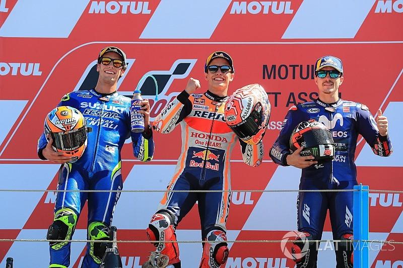 Diaporama : Les 18 triplés espagnols en MotoGP