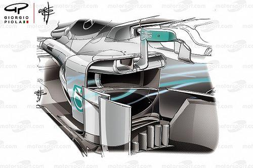 FIA: Espelhos da Mercedes cumprem regulamento