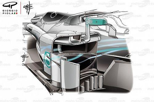 Analyse: Waarom het upgradepakket van Mercedes zo gedurfd is