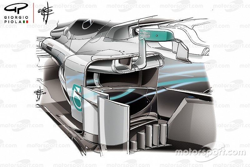 "Mercedes mirrors comply to ""the letter"" of F1's rules - FIA"