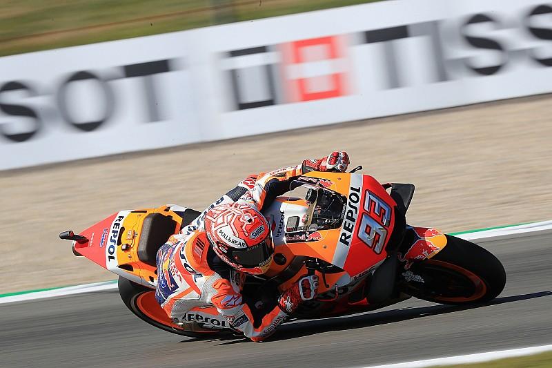 Marquez nipt voor Viñales in derde training Dutch TT