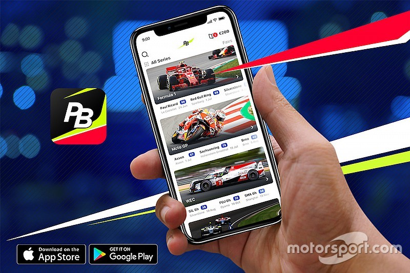 Motorsport Network lancia l'app Pit Stop Betting