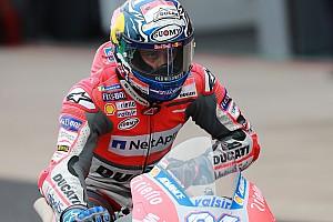 MotoGP Reaktion Immerhin Platz sechs: Schadensbegrenzung bei Dovizioso