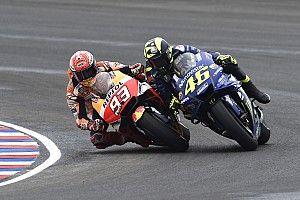 """Rossi: """"Márquez destroza nuestro deporte"""""""