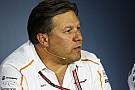 IndyCar Zak Brown va rencontrer des équipes d'IndyCar en vue d'un partenariat