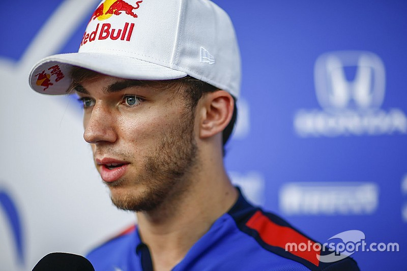 Pierre Gasly correrá para Red Bull Racing en 2019