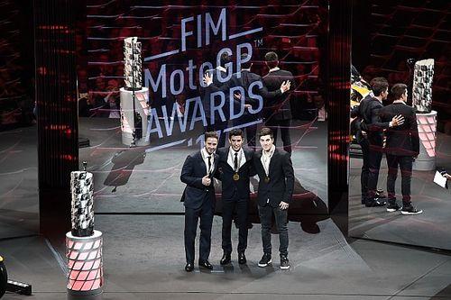 Fotogallery: il gala FIM chiude la stagione 2017 della MotoGP