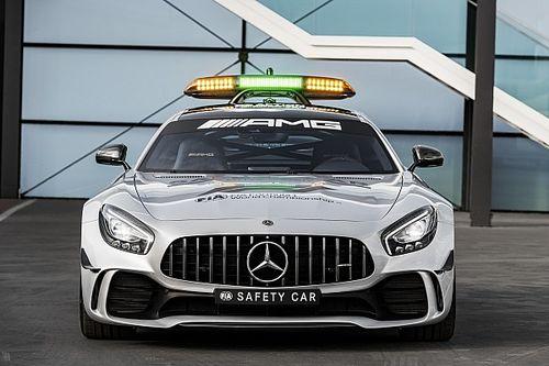 """El Mercedes-AMG GT R llamado """"Safety Car"""""""