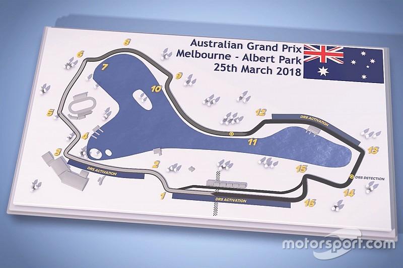 Australian Grand Prix: Albert Park F1 circuit guide