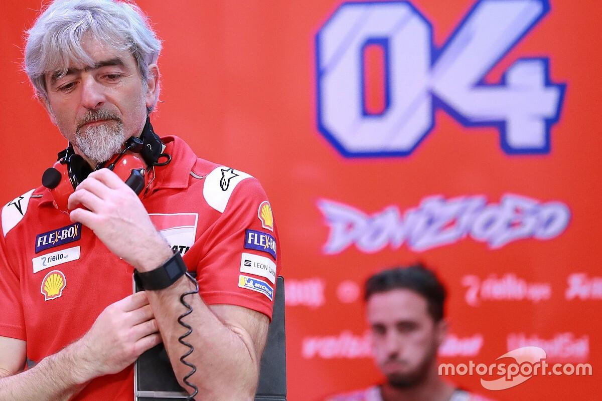 Dovizioso propone tirar la temporada para hacer una 'nueva' Ducati
