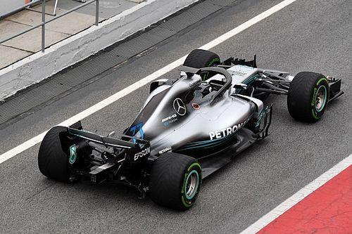 """Hamiltons """"Opfer"""" beschert Mercedes weitere Stunde Testzeit"""