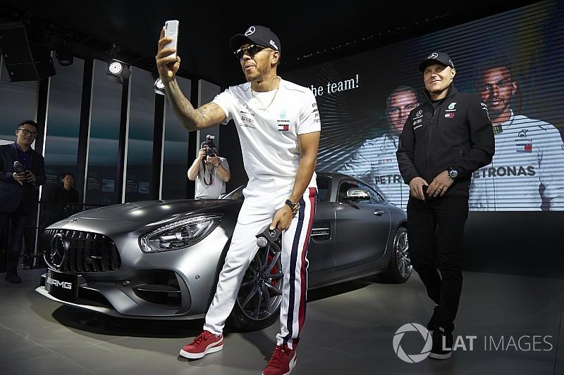 Hamilton elvette Räikkönen rekordját Kínában
