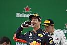 "Formule 1 Horner: ""Ricciardo zit nu op zijn hoogste niveau"""