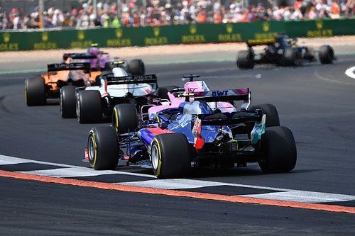 Gasly verliest tiende plek in Silverstone aan Perez door tijdstraf
