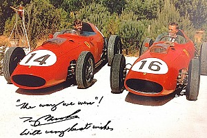 Formula 1 Breaking news Gurney's first F1 teammate, Tony Brooks, pays tribute to his friend