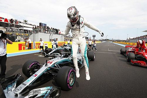 Startgrid Grand Prix van Frankrijk