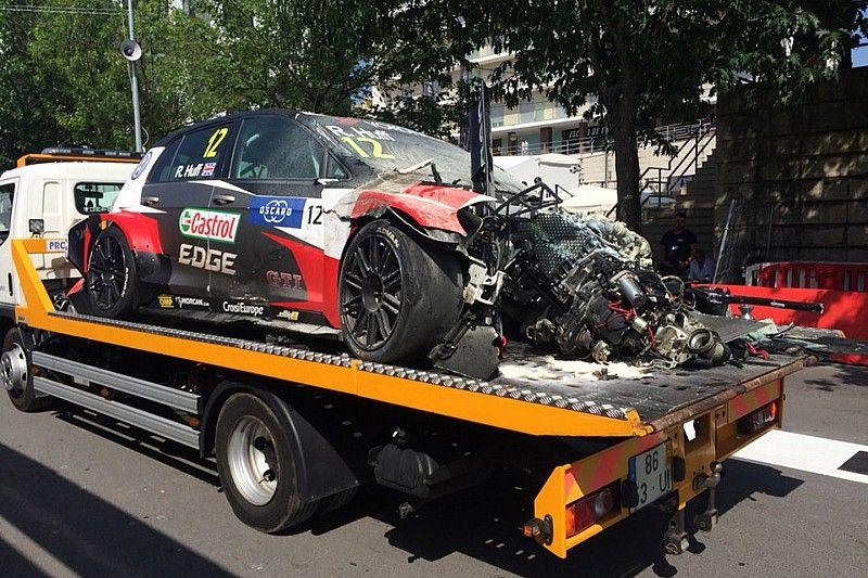 """Huff: """"Tarquini e Muller mi hanno salvato dalle fiamme dopo l'incidente"""""""