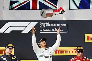 Hamilton ganó en Francia y vuelve a liderar el campeonato