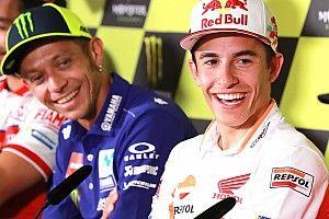 """Marquez: """"Valentino compagno di squadra? Se corre fino a 50 anni..."""""""