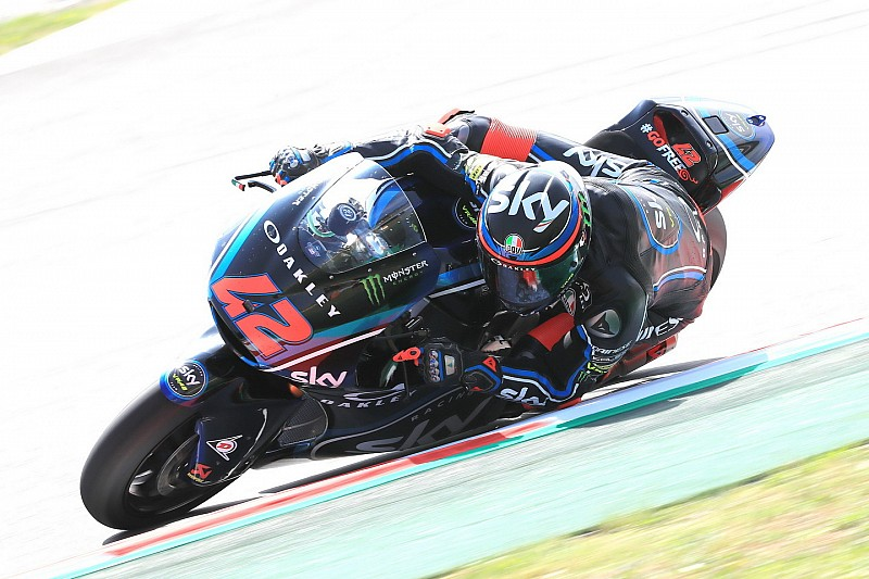 Moto2 Assen: Bagnaia aan kop, crash voor Marquez