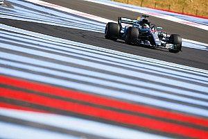 法国大奖赛FP2:汉密尔顿高居榜首,佩雷兹车轮脱落