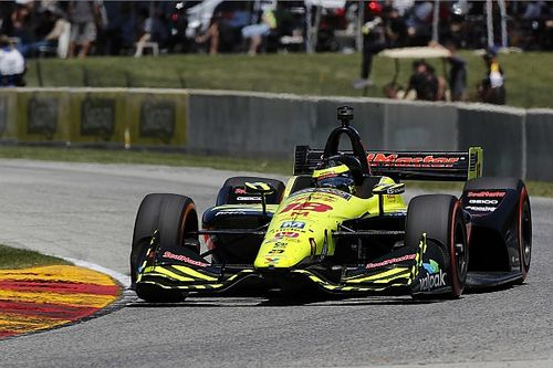Mid-Ohio IndyCar: Bourdais leads incident-filled first practice